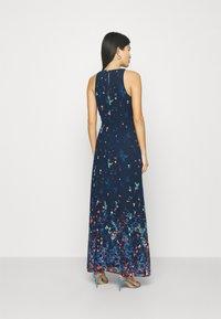 Esprit Collection - PRINT FLOWER - Maxi dress - navy - 2