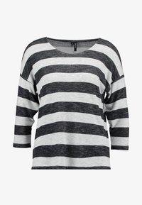 Vero Moda - VMWIDE STRIPE COLOR - Langarmshirt - black - 3
