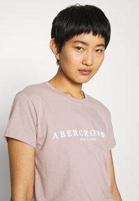 Abercrombie & Fitch - PARIS LOGO TEE  - T-shirt imprimé - pink - 3