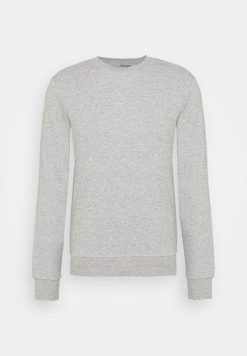 JJEBASIC CREW NECK - Sweatshirt - light grey melange