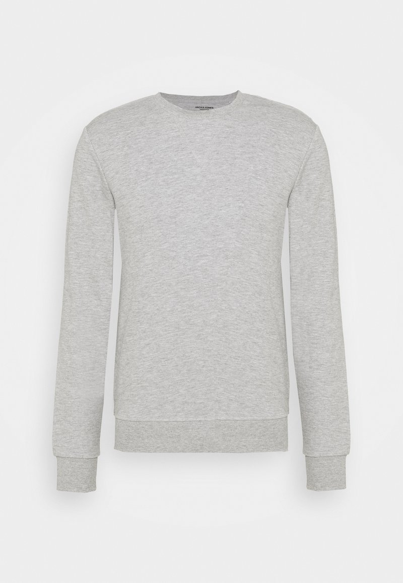 Jack & Jones - JJEBASIC CREW NECK - Sweatshirt - light grey melange