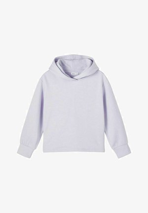 Hoodie - purple heather