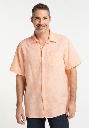 Overhemd - orangerust
