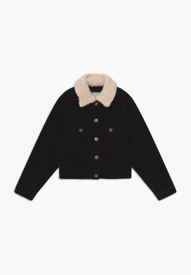 GIRLS FLAUSCHKRAGEN - Light jacket - schwarz reactive