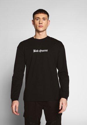 BAD OMENS - Bluzka z długim rękawem - black