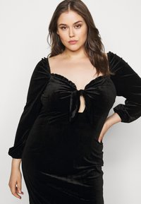Glamorous Curve - BLACK MILKMAID DRESS - Kjole - black - 4