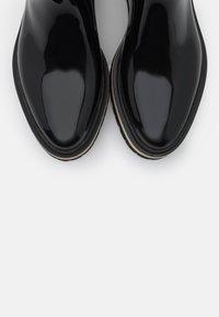 LEMON JELLY - NETTY - Gummistøvler - black - 4