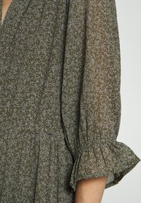 Selected Femme Petite - SLFGAIA-DAMINA ANKLE DRESS  - Maxi dress - carafe - 5