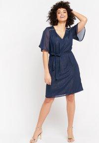 LolaLiza - Cocktail dress / Party dress - navy blue - 3