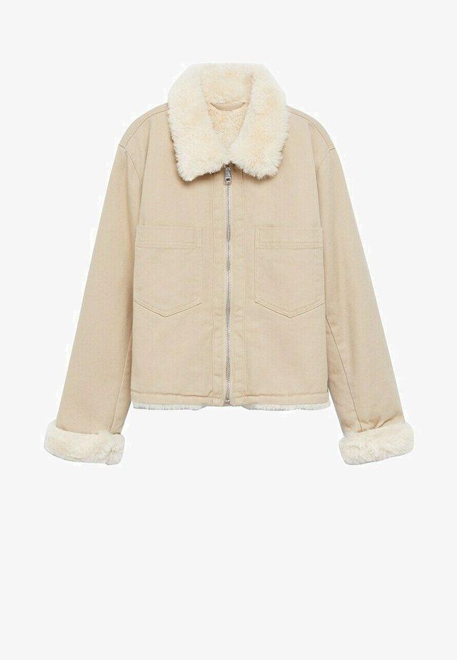 Zimní bunda - beige
