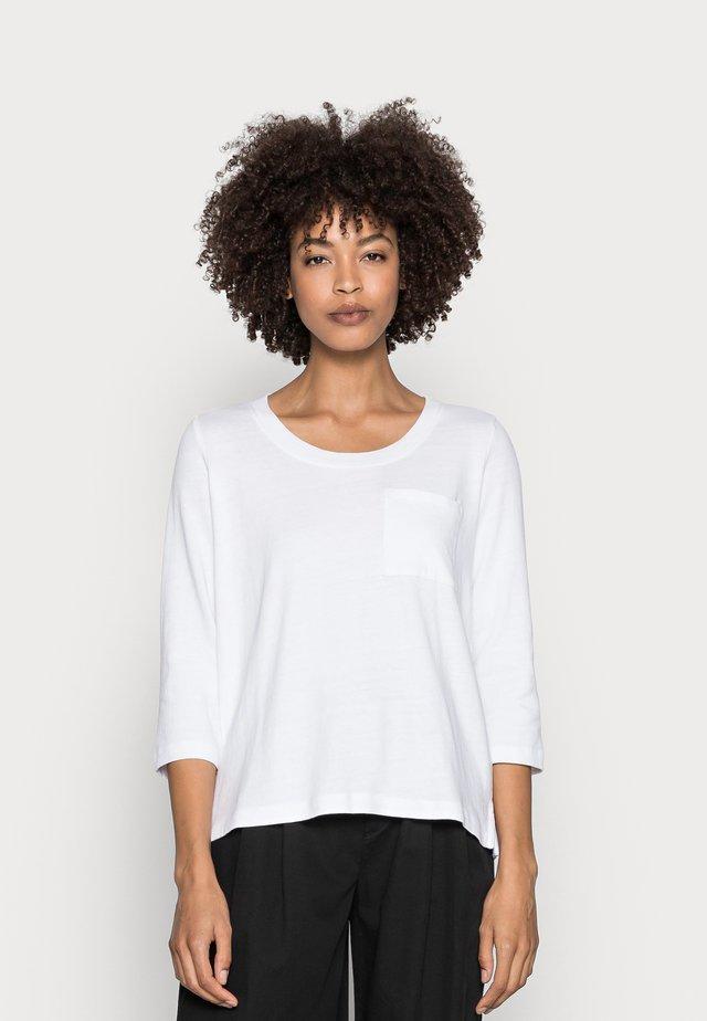 Maglietta a manica lunga - white