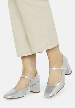 DORA - Classic heels - silver