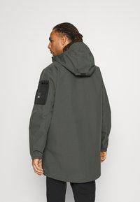 Icepeak - EAGARVILLE - Hardshellová bunda - dark green - 2