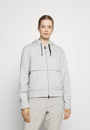 EDITH - Sweat à capuche zippé - grey
