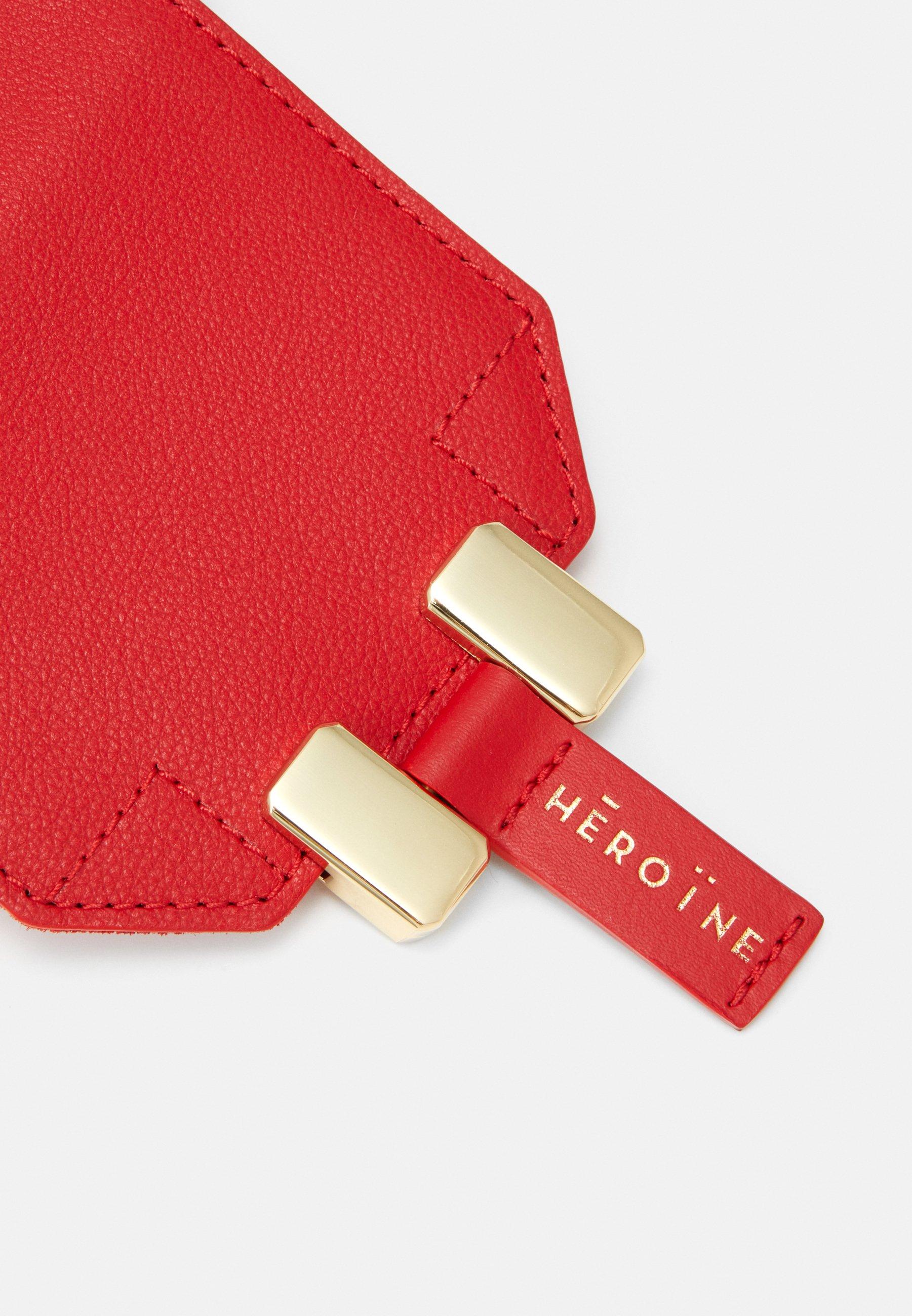 Maison Hēroïne ROMY PHONE - Borsa a tracolla - poppy red - Borse & Accessori da donna Genuino