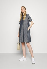 Opus - WELIKA - Shirt dress - mystic blue - 1