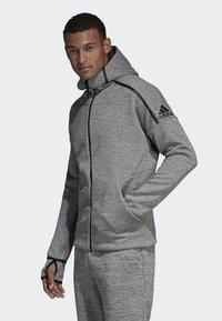 adidas Performance - adidas Z.N.E. Fast Release Hoodie - Fleecejas - grey - 2
