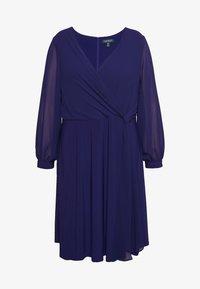 Lauren Ralph Lauren Woman - COOPER LONG SLEEVE DAY DRESS - Shift dress - cannes blue - 3