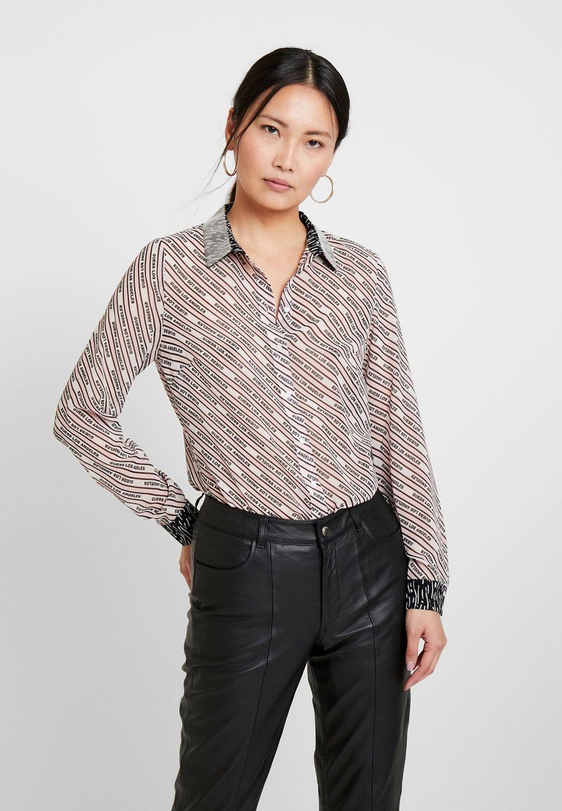 Guess - LESLIE - Button-down blouse - cool pink