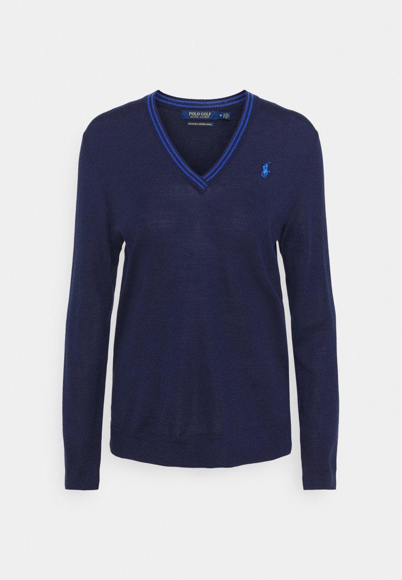 Polo Ralph Lauren Golf - LONG SLEEVE - Jumper - french navy/summer royal