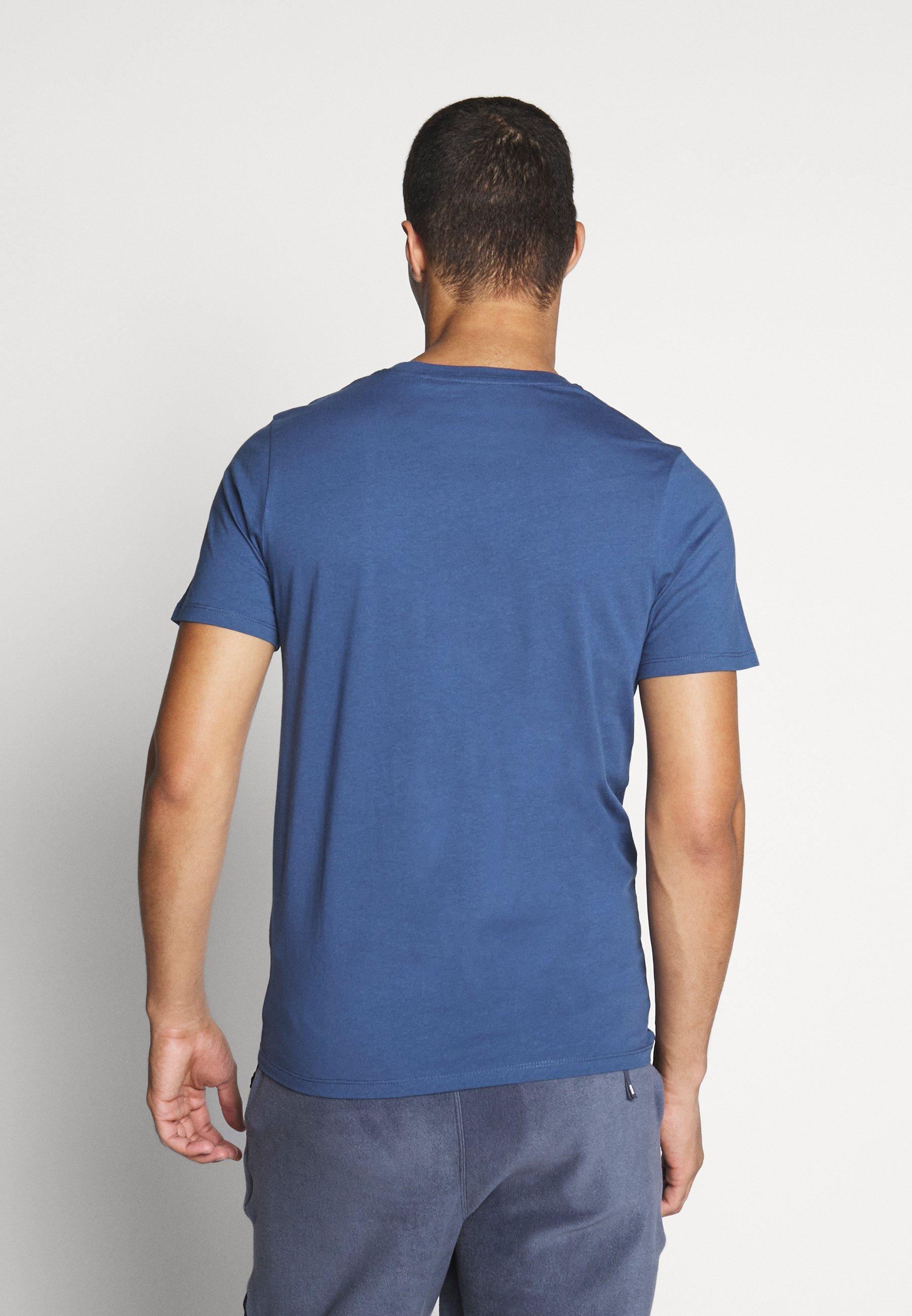 Jack & Jones JJECORP LOGO TEE O-NECK - Print T-shirt - denim blue RAy1d