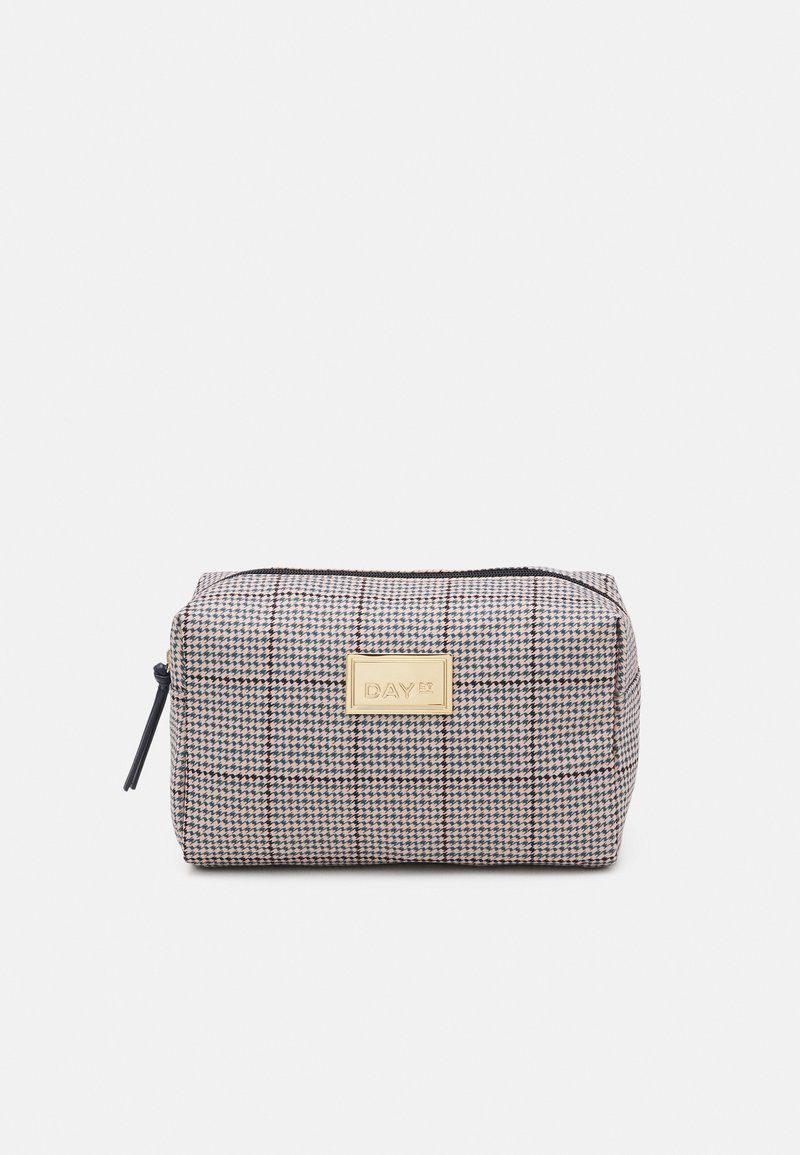 DAY ET - CHECK BEAUTY - Wash bag - blue nights