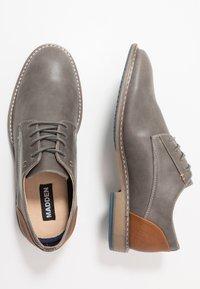 Madden by Steve Madden - STOOP - Šněrovací boty - grey - 1