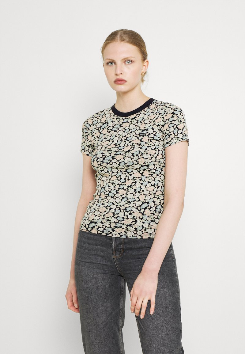 Levi's® - BABY TEE - T-shirts print - obsidian