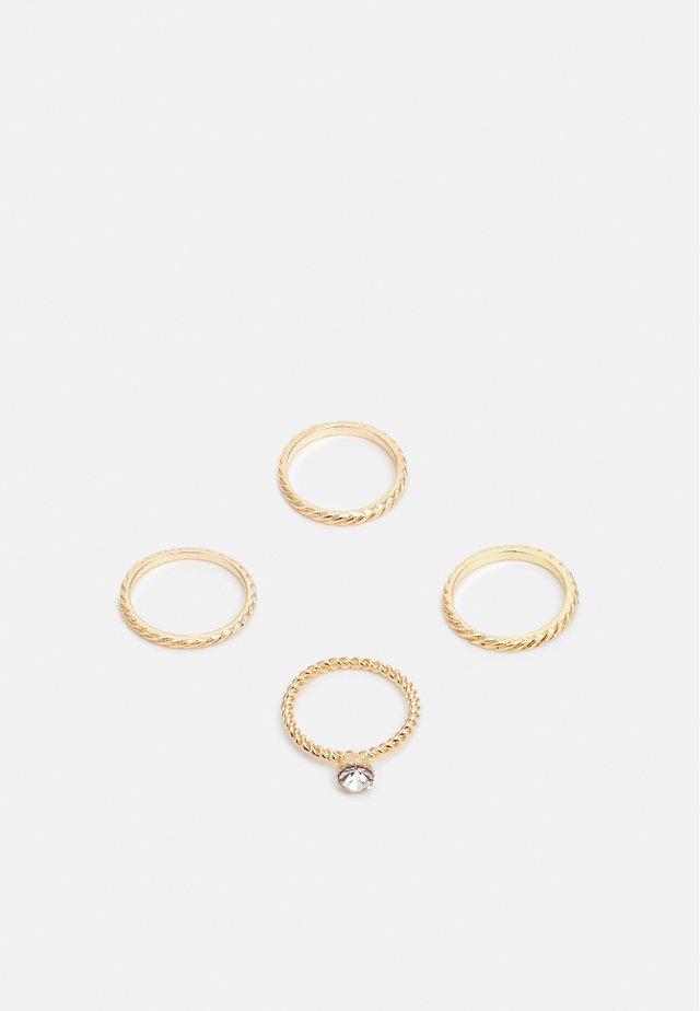 ONLANNE RINGS 4 PACK - Ring - gold-coloured