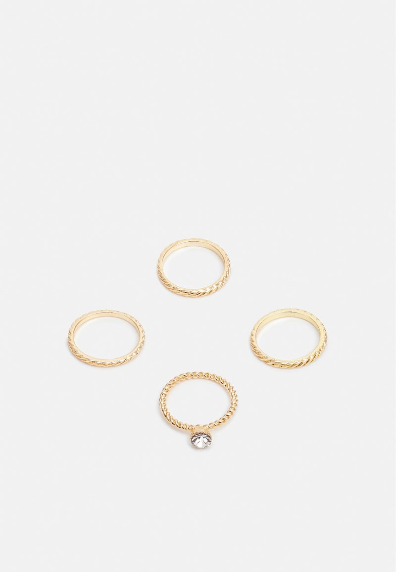ONLY - ONLANNE RINGS 4 PACK - Ring - gold-coloured