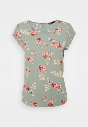 ONLVIC  - Blouse - chinois green/red