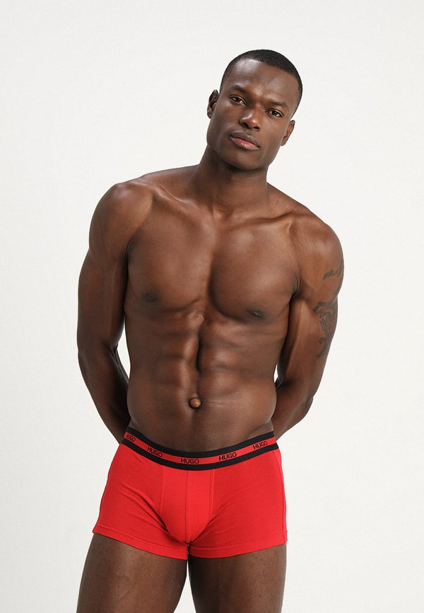 HUGO 2 PACK - Panty - bright red/czerwony Odzież Męska XDSH