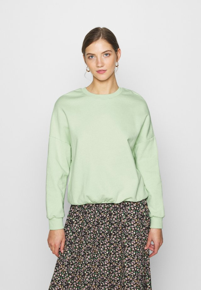 Oversized Sweatshirt - Sudadera - green