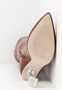 BEBO - DELTA - Boots med høye hæler - tan - 6
