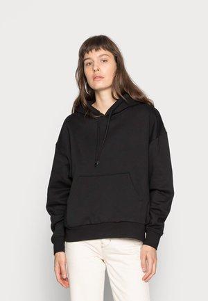 ALISA HOODIE - Jersey con capucha - black