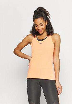 REGULAR FABRIC MIX TANK - Sports shirt - neon coral