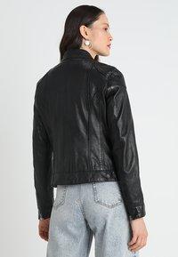 Oakwood - LINA - Leather jacket - black - 2
