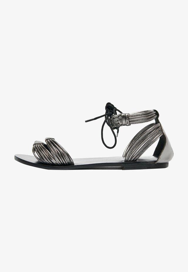Sandały - pewter