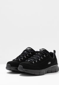 Skechers Wide Fit - SYNERGY 3.0 - Trainers - black - 4