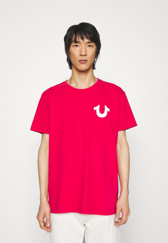 CREW NECK FROST - T-shirt imprimé - patrol red