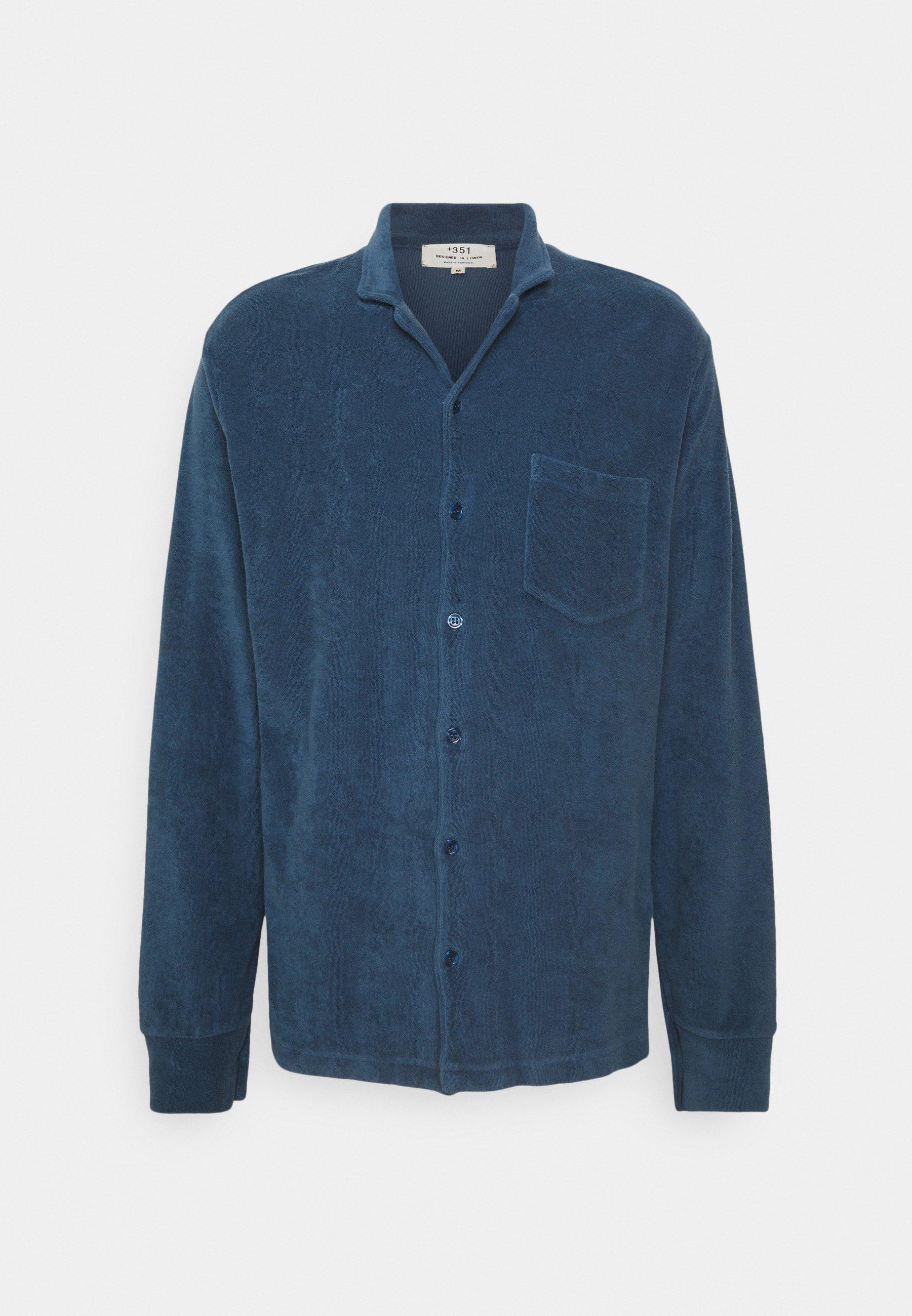 Women TOWELLING LONG SLEEVE UNISEX - Button-down blouse