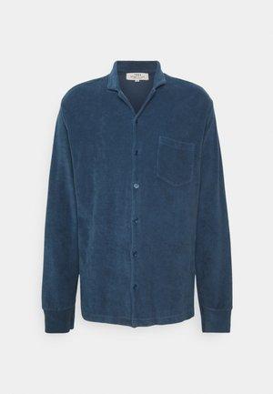 TOWELLING LONG SLEEVE UNISEX - Overhemdblouse - blue shadow