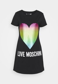 Love Moschino - Jersey dress - black - 7
