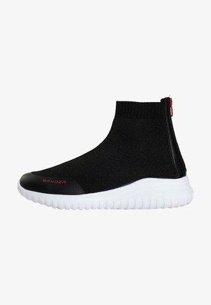 BASKETS LEON - Sneakers hoog - black