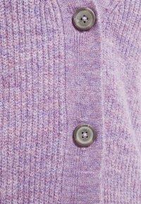 JDY - JDYDREA SHORT CARDIGAN - Cardigan - lavender gray/melange - 2