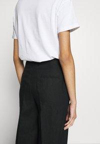 Benetton - TROUSERS - Kalhoty - black - 3