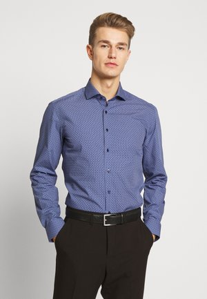 SLIM FIT HAI-KRAGEN - Formal shirt - navy