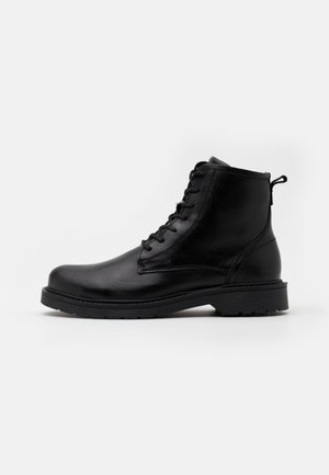 SLHTHOMAS BOOT  - Lace-up ankle boots - black