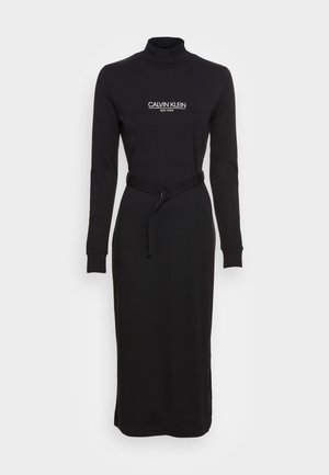NEW YORK ESSENTIAL DRESS - Jersey dress - black