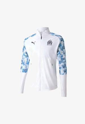OLYMPIQUE MARSAILLE STADIUM JACKET - Club wear - white
